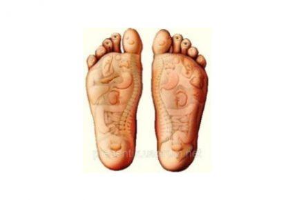 Rytietiškas pėdų masažas